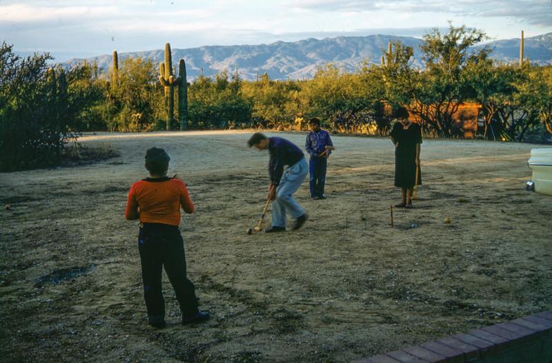 1958 Tucson scene - possibly in Estes Park