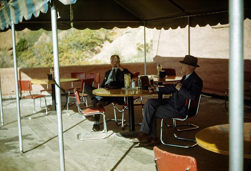 1952 (est) Mr Baral and Mr Goodrich (Pops)