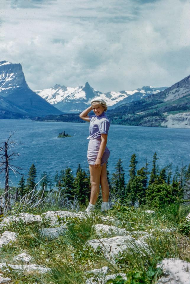 1955 (est) Glacier National Park