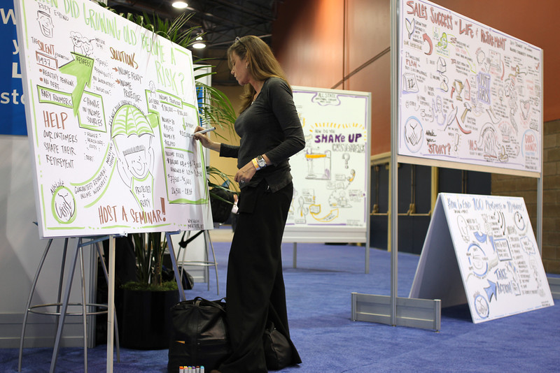 Context: Allstate National Forum 2012, Wyn Wilson.