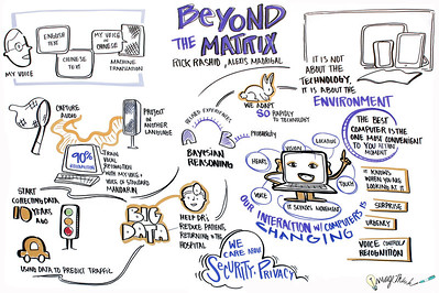 """Beyond The Matrix,"" with Rick Rashio, Alexis Madrigal. Rick Rashid, Chief Research Officer at Microsoft, in conversation with Atlantic senior editor Alexis Madrigal"