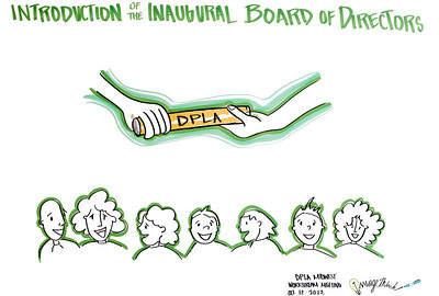 Digital Public Library Plenary Event, Chicago: Introduction of the Inaugural Board of Directors •Maura Marx, DPLA Secretariat