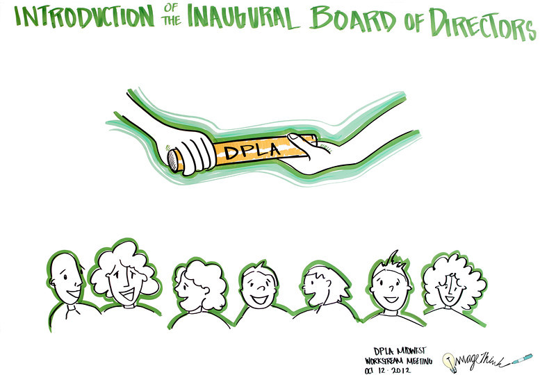 Digital Public Library Plenary Event, Chicago: Introduction of the Inaugural Board of Directors<br /> •Maura Marx, DPLA Secretariat