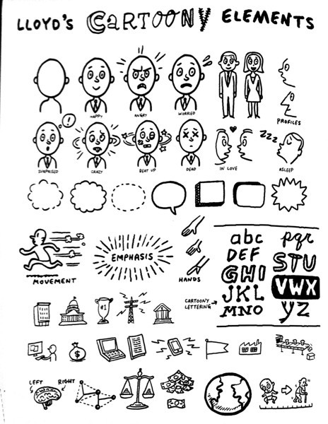IFVP, Pittsburgh PA: Lloyd Dangle's Cartoony Elements IFVP, Pittsburgh PA
