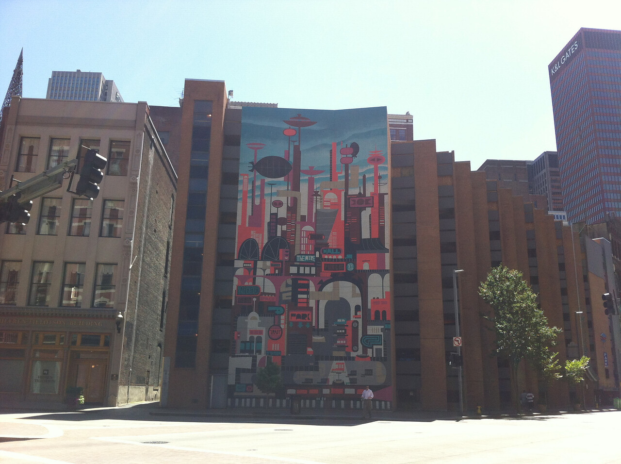 IFVP, Pittsburgh PA: Mural