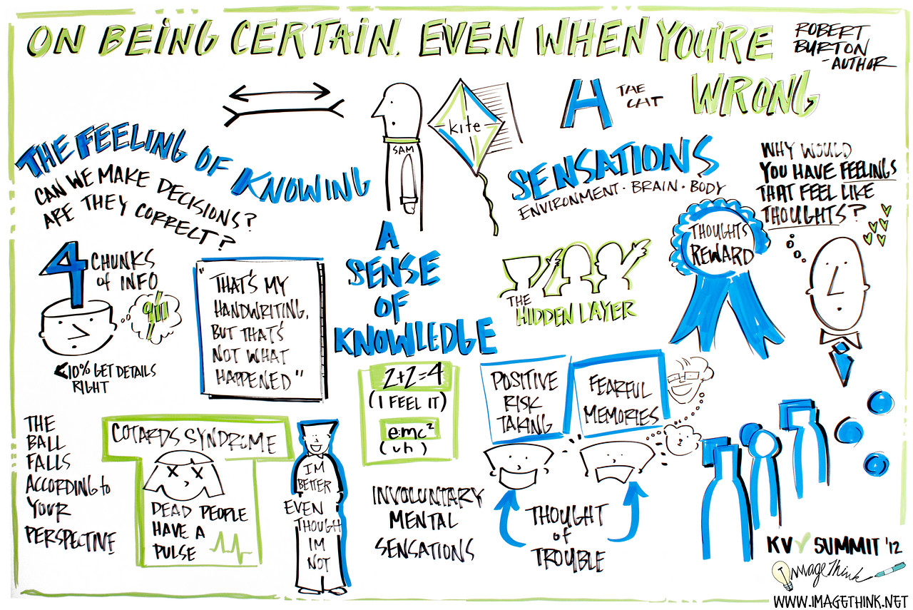 """Robert Burton, author: """"On Being Certain Even When You're Wrong"""" at Kholsa Summit in Sausalito, California"""