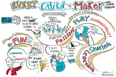 Every Child a Maker - AnnMarie Thomas, Maker Education Initiative