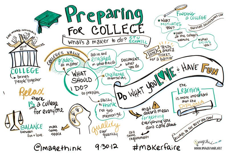 Preparing for College: What's a Maker To Do? - Stu Schmill<br /> Students and parents recognize the value of going to college, yet applying can be a confusing process. The dean of admissions at MIT will and offer advice to students as to how best to prepare for the college experience and application process.