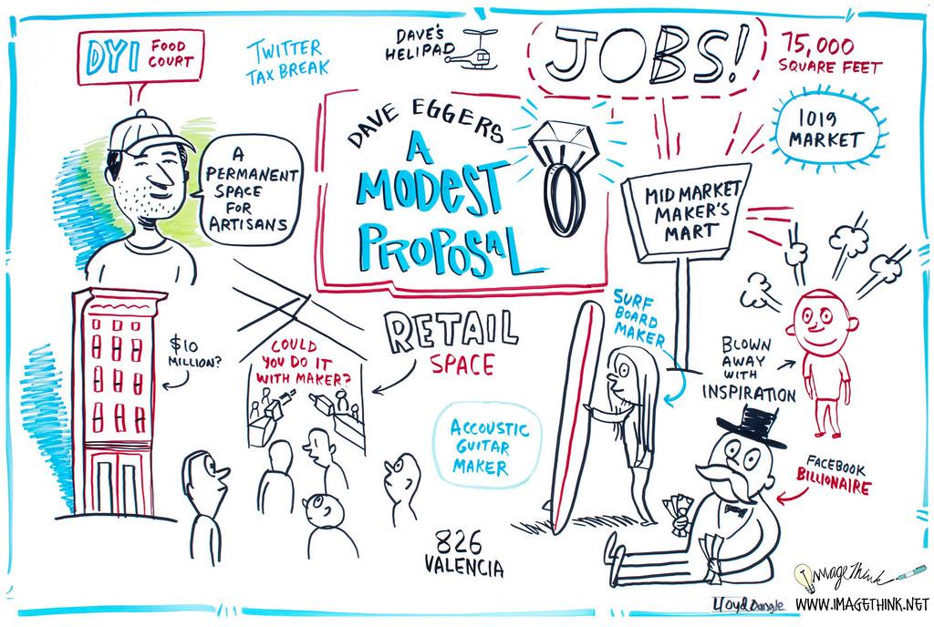 "Maker Faire 2012 San Francisco: Dave Eggers, ""A Modest Proposal"""