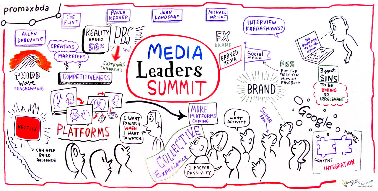 "Media Leaders' Summit<br /> Don't miss this incredible discussion with the industry's most important and influential media executives. From technology's impact on entertainment to new and unique strategic initiatives, these leaders and luminaries will discuss effective leadership in a challenging business, provide insight on how innovation builds brands and shine a fundamental light on the paths they've paved on their roads to success.<br /> Moderator:<br /> Joe Flint, Staff Writer, ""Los Angeles Times""<br /> Panelists:<br /> Allen DeBevoise, Chairman & CEO, Machinima, Inc.<br /> Paula Kerger, President & CEO, PBS<br /> John Landgraf, President & GM, FX Networks<br /> Michael Wright, President, Head of Programming, TBS, TNT & Turner Classic Movies (TCM)"