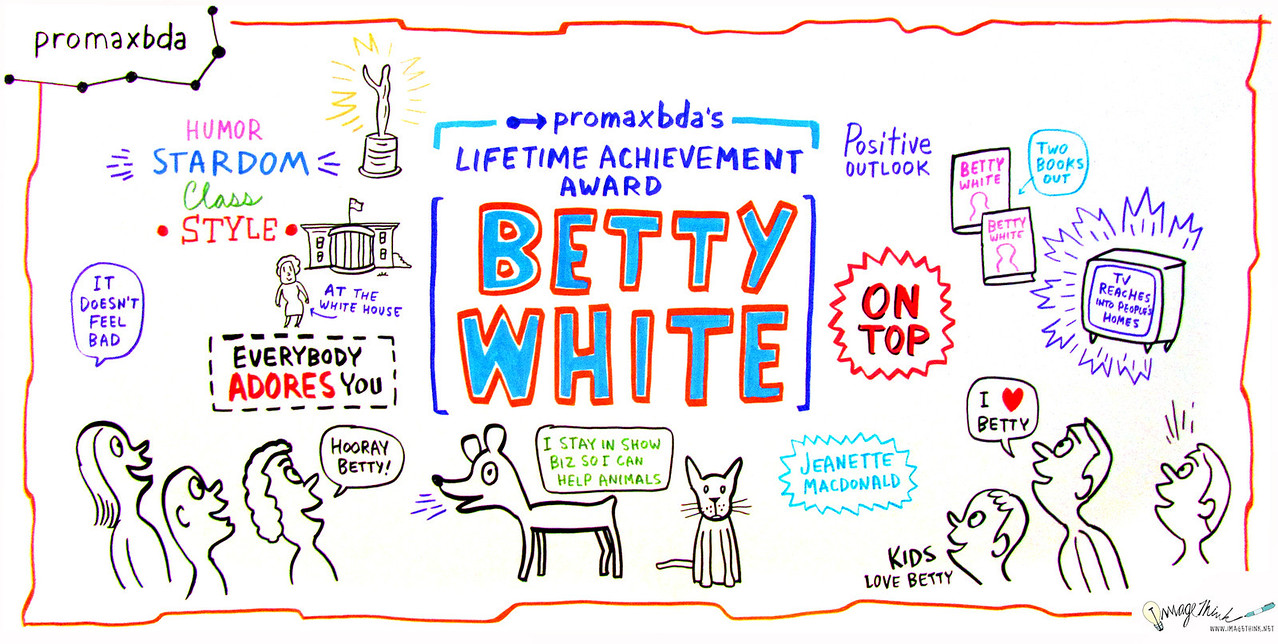 PromaxBDA Lifetime Achievement Award Presentation: Betty White