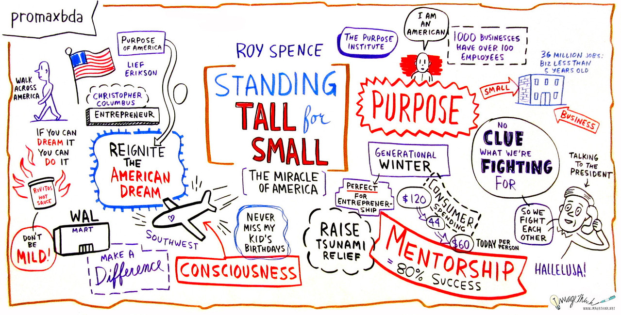 "Standing Tall for Small: The Miracle of America<br /> The big multi-nationals can handle global competition; but small, local business is the backbone of this country, inspiring and championing the true ""Miracle of America."" An America made and designed by dreamers and doers still exists and the local multiplatform television and broadcast industry sits at the apex, creatively inspiring and strengthening communities. In this riveting keynote, Roy Spence explains how purpose-based leadership with an emphasis on small business can help you lead your company to new heights and redefine the paradigms of success.<br /> Speaker:<br /> Roy Spence, Chairman & Co-Founder, GSD&M; CEO & Co-Founder, The Purpose Institute"