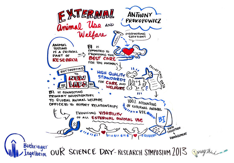 Boehringer Ingelheim - Our Science Day - October 1st 2013 with Graphic Recording by ImageThink