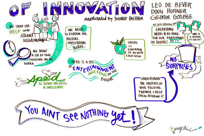 """Of Innovation"" Leo de Bever Doug Horner George Gosbee  IIR ImageThink 2013"