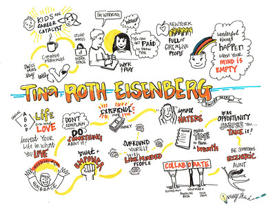 The mind behind projects like the design blog SwissMiss and the Creative Mornings lecture series, Eisenberg shared her key principles for happiness and success, and spoke about how taking your side projects seriously will lead to your success.