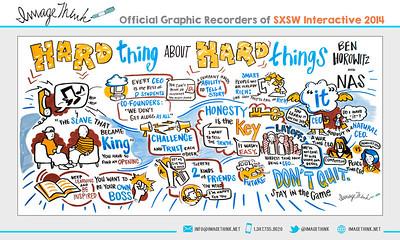 "Ben Horowitz, Nas: ""Hard Thing about Hard Things"" Sunday March 9, 2014 - SXSWi"
