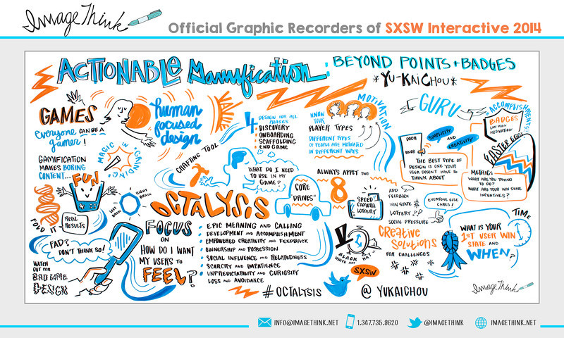 """Yu-Kai Chou: """"Actionable Gamification: Beyond Points & Badges""""<br /> Tuesday March 11, 2014 - SXSWi"""