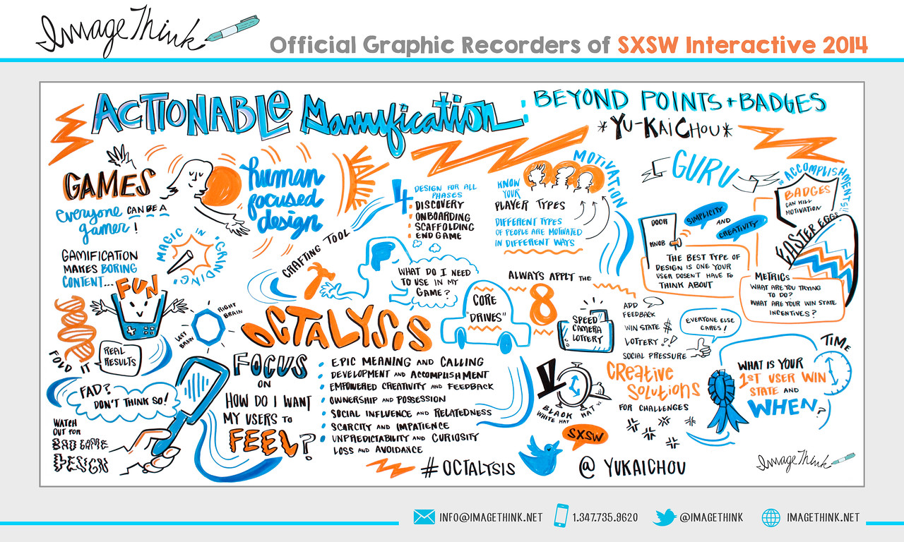 "Yu-Kai Chou: ""Actionable Gamification: Beyond Points & Badges""<br /> Tuesday March 11, 2014 - SXSWi"