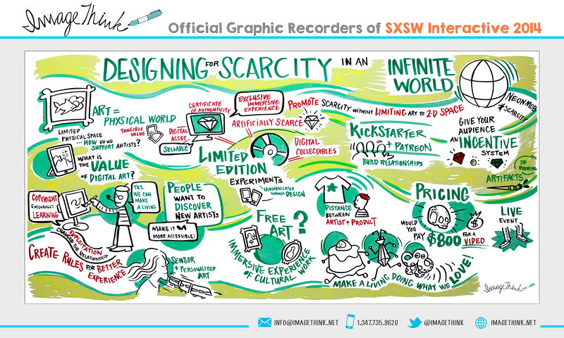"NeonMob: ""Designing Scarcity in an Infinite World""<br /> Monday March 10, 2014 - SXSWi"