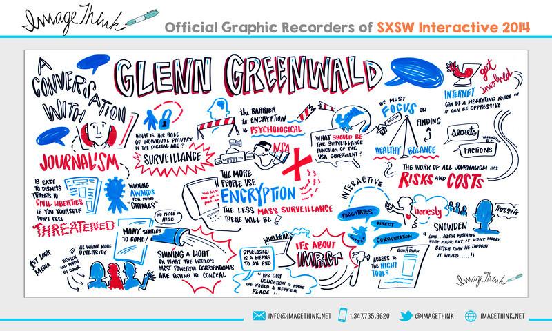 "Glenn Greenwald, Micah Sifry: ""A Conversation with Glenn Greenwald""<br /> Monday March 10, 2014 - SXSWi"