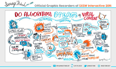 "Eli Praiser, David Carr: ""Do Algorithms Dream of Viral Content"" Monday March 10, 2014 - SXSWi"