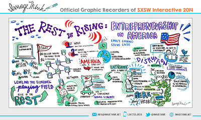 """Emily Chang, Steve Case: """"The Rest is Rising: Entrepreneurship in America"""" Saturday March 8, 2014 - SXSWi"""
