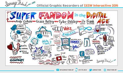 Andy Cohen, Grace Helbig, Tyler Oakley & Ze Frank: Super Fandom in the Digital Age Friday March 7, 2014 -SXSWi