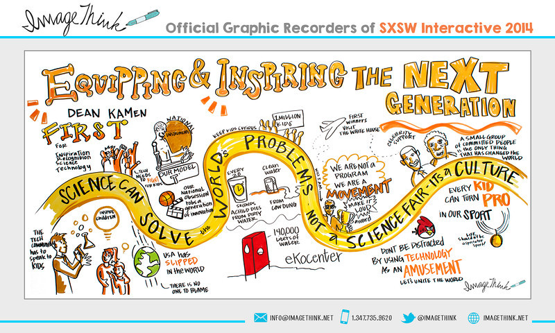 "Dean Kamen: ""Equipping & Inspiring the Next Generation""<br /> Sunday March 9, 2014 - SXSWi"