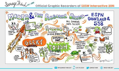 "Bill Simmons & Nate Silver: ""Media & The Personal Brand – ESPN, Grantland and 538″ Saturday March 8, 2014 - SXSWi"