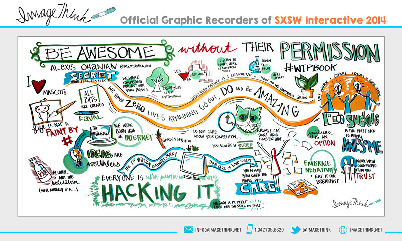 """Alexis Ohanian: """"Be Awesome Without Their Permission""""<br /> Sunday March 9, 2014 - SXSWi"""