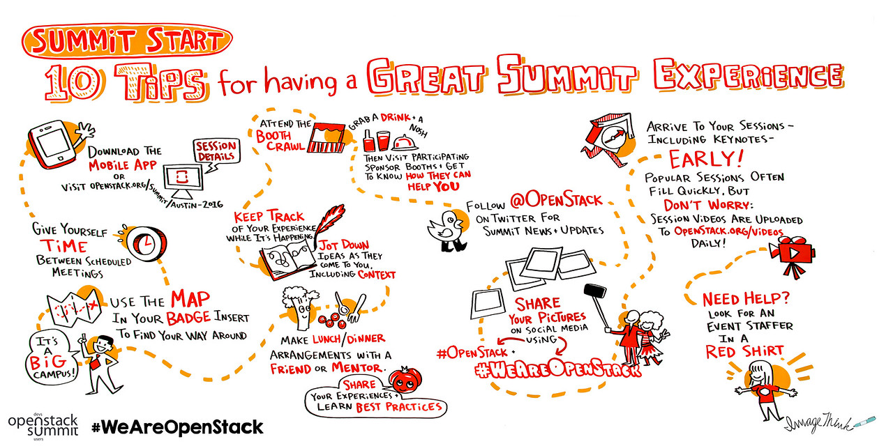 Summit Start: 10 Tips for having a Great Summit Experience