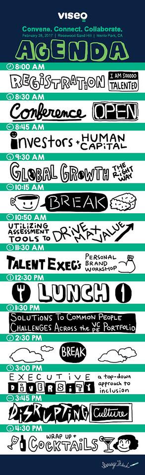 Viseo Talent Summit Agenda Infographic