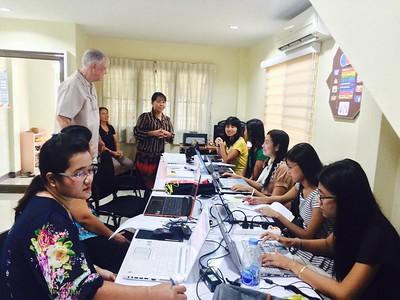 2015 Myanmar Lecturers Internship August