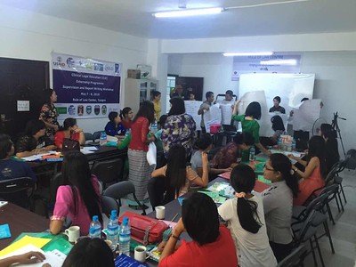 2016 CLE Externship Programme Supervision and Report Writing Workshop in TGI