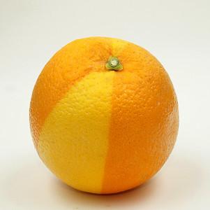 double color orange