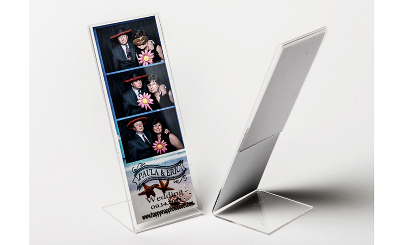2x6 L - Strip Acrylic Frame -  $1.75  each with Insert