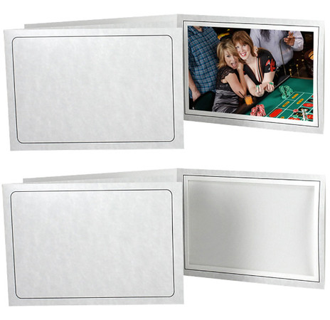 $1.00   4x6 Printed Marble Event Folder (Imprinting minimum of 100)