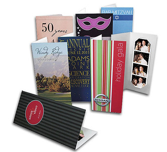 2x6 Photo Folder - $1.40 each  (custom printed on the exterior front & back)