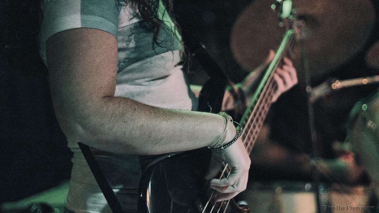 bass guitar band photography