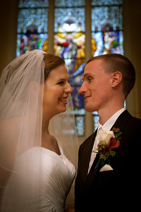 The wedding of Colin Overstreet and Kim Dusek in Naperville, Illinois on October 8, 2011. (Jay Grabiec)
