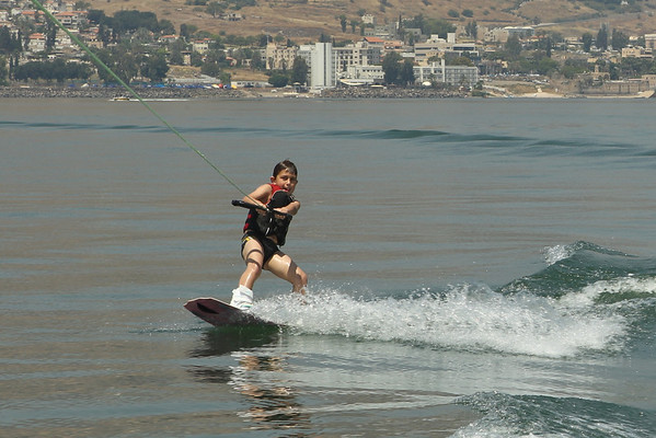 Wakeboarding on the Sea of Galilee June 2011 - Best of