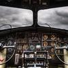 B17 Bomber cockpit