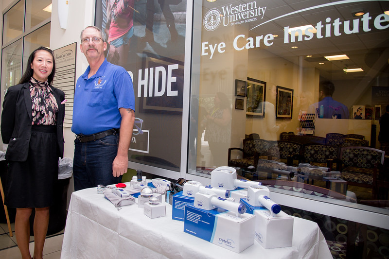 Eye Care Institute grand opening and FOE donation