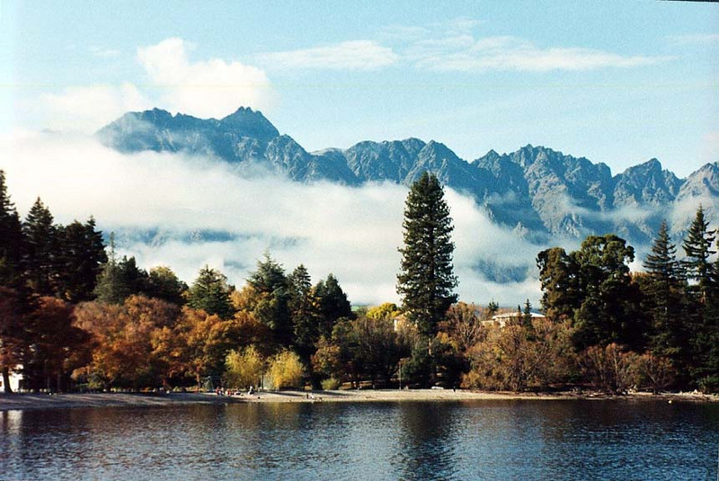 Lake Wakatipu, New Zealand<br /> 1989