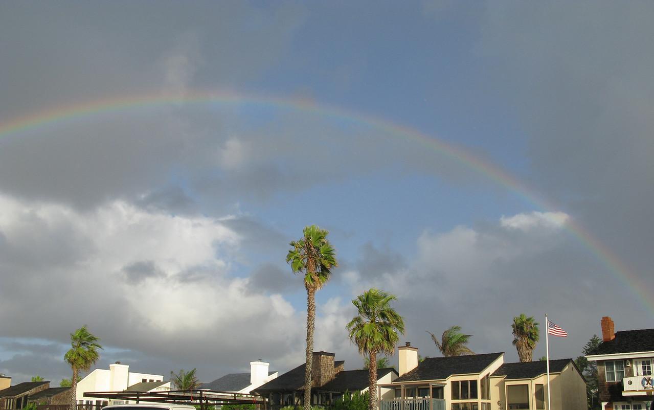 Rainbows Sunset Cliffs, Ocean Beach, CA   December 1, 2007