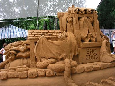 Sandy Feat Sculptures