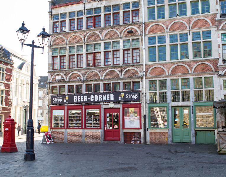 Beer Corner. Ghent, Belgium.