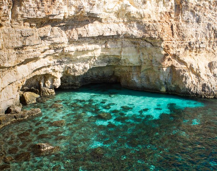 Crystal Blue. Malta.