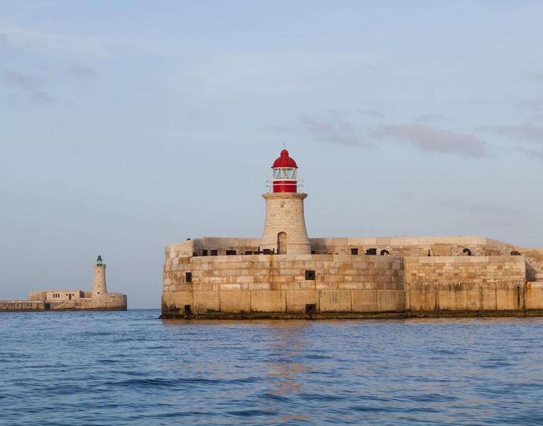 Light Towers. Malta.