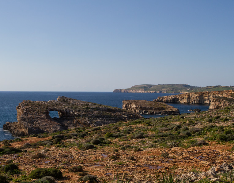 View of the Other Side. Malta.